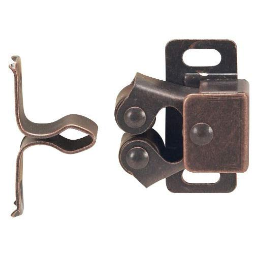10 Pack - Cosmas RC112 Oil Rubbed Bronze Cabinet Hardware Zinc Alloy Roller Catch