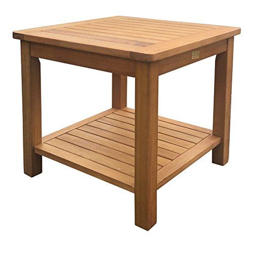 SEDEX Canberra 50x50 Beistelltisch Gartentisch Tisch Balkontisch Holztisch