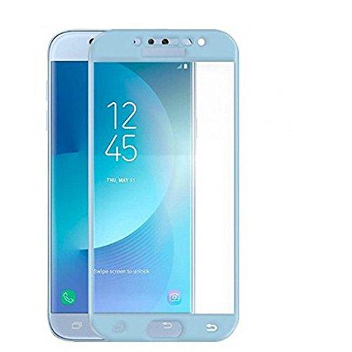 Mb Accesorios Protector de Pantalla con Pegamento Completo Azul Samsung Galaxy J5 2017 J530 Azul