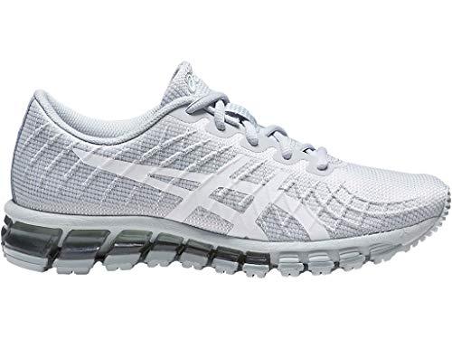 ASICS Women's Gel-Quantum 180 4 Running Shoes, 10M, MID Grey/White