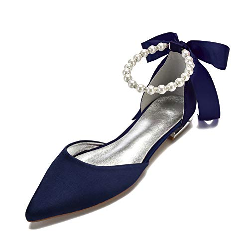 Top 10 best selling list for navy flat bridal shoes