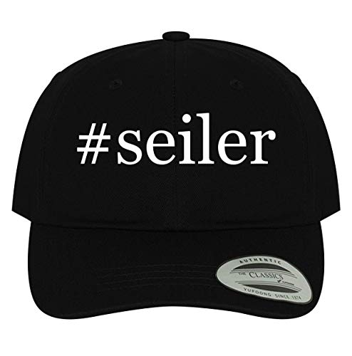 BH Cool Designs #Seiler - Men's Soft & Comfortable Dad Baseball Hat Cap, Black, One Size
