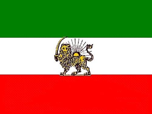 U24 Flagge Fahne Iran Royal Löwe 90 x 150 cm