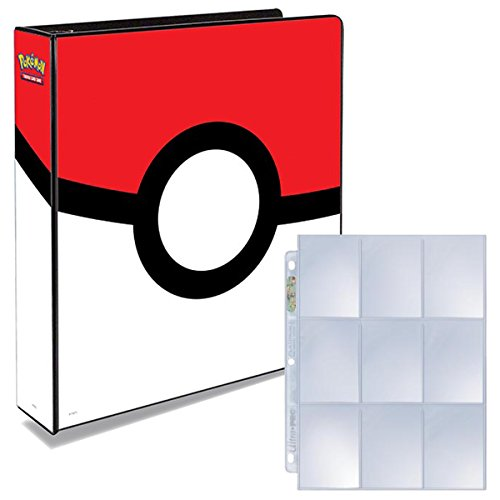 Ultra Pro Pokemon Pokeball 3-Ring Binder with 25 Platinum 9-Pocket Pages