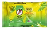 THEYE Powerful Natural Mosquito Repellent Wet Wipes | DEET Alcohol Free | 100% Natural with No Harmful Chemicals | Plant-Based | Up to 6 Hours of Protection | Kind to Skin