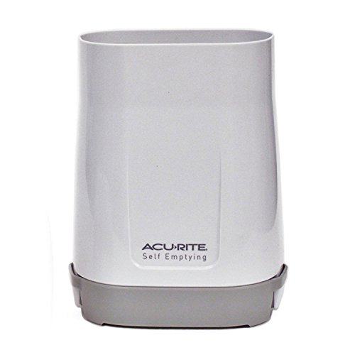 AcuRite Wireless Rain Gauge Collector , White - 06034RM