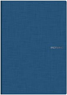Fabriano A4 Blu Squared Stapled Notebook - Blue (Pack of 5)