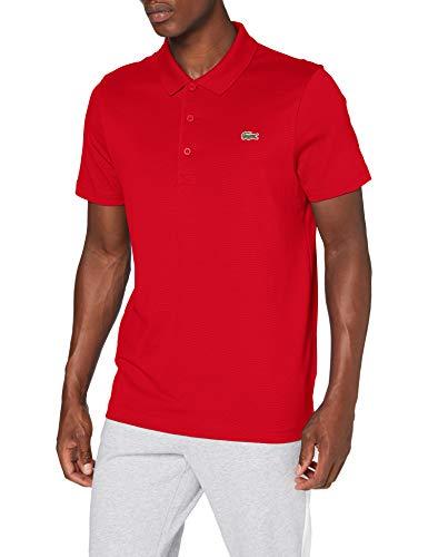 Lacoste Sport Herren DH2881 Polohemd, Rouge/Rouge, L