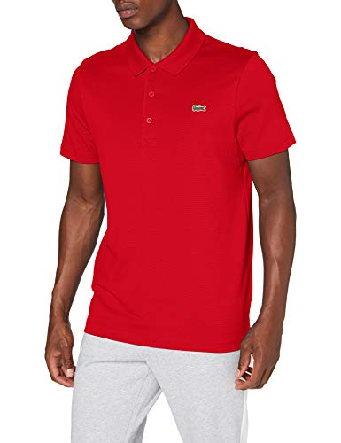 Lacoste Sport DH2881 Polo, Red/Red, XL Uomo