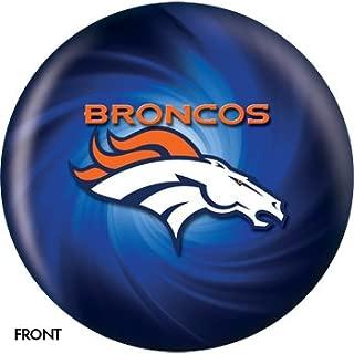KR Strikeforce NFL Denver Broncos Bowling Ball 10lb