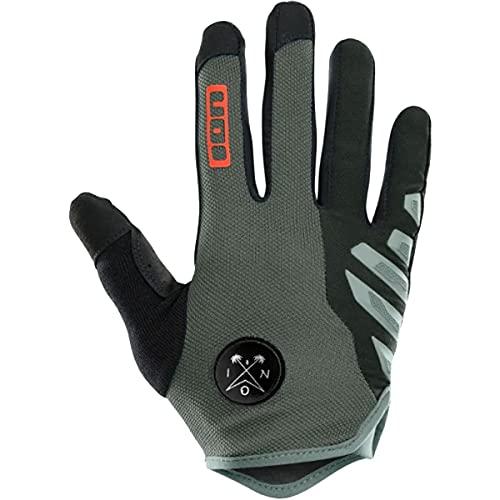 Ion Scrub Amp MX DH FR Fahrrad Handschuhe lang grau/schwarz 2021: Größe: L (9-9.5)