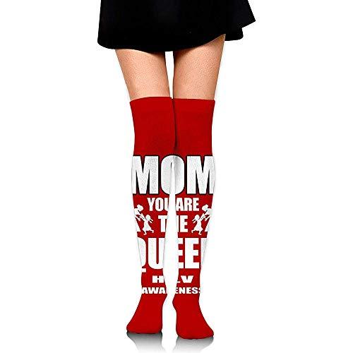Niet toepasbare kousen, lange moeder, gevoelige huid, personaliseerbaar, lange kousen tot bovenbeen, 60 cm