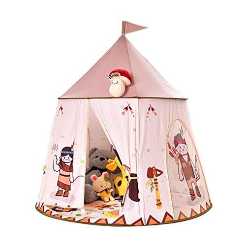 Princess Castle Speeltent - Draagbare Speeltent Voor Kinderen, Opvouwbare Prinses Speeltent Met Tas En Mat Voor Gebruik Buitenshuis