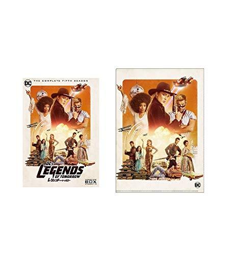 【Amazon.co.jp限定】レジェンド・オブ・トゥモロー 5thシーズン DVD コンプリート・ボックス (3枚組) (オリジナルA4クリアファイル付)