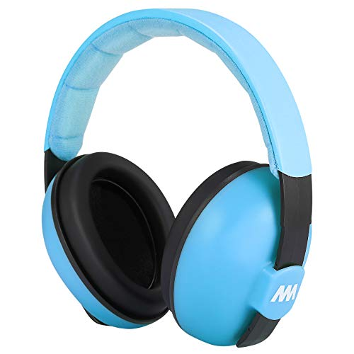 Baby Ear Protection Noise Cancelling Headphones for Babies and Toddlers - Mumba Baby Earmuffs - Ages 3-24+ Months - for Sleeping, Studying, Airplane, Concerts, Movie, Theater, Fireworks