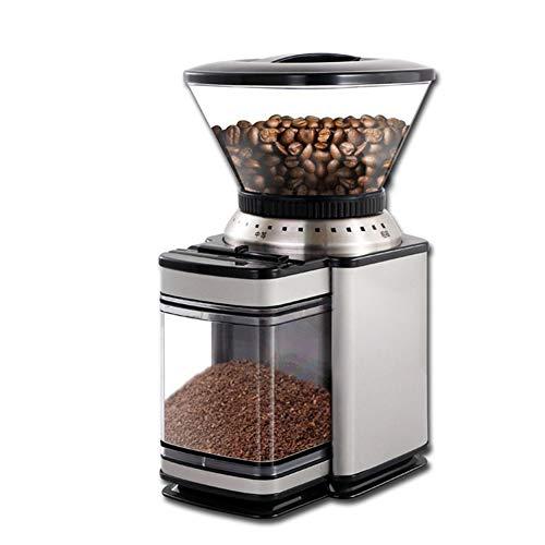 DCRYWRX Macinacaffè Elettrico, Multifunzionale in Acciaio Inox Blade Coffee Grinder, Mulino Spessore Regolabile Veloce Macinatura caffè in Grani, Noci, Cereali
