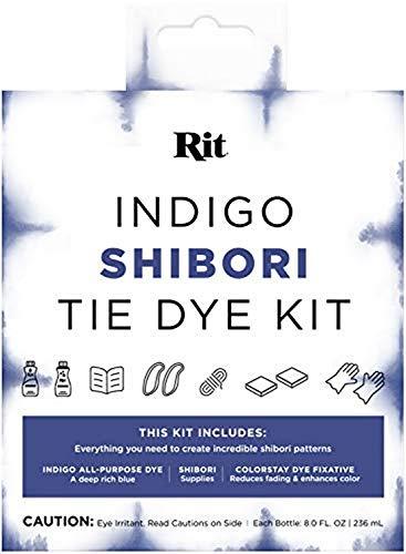 Rit Indigo Shibori Tie Dye Kit, Model Number: 85847