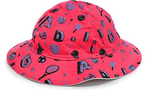 adidas Baby-Jungen Inf Bucket Hat Baskenmütze, Rosa (Rosbas/Toqver/Rosbas), 1/2...
