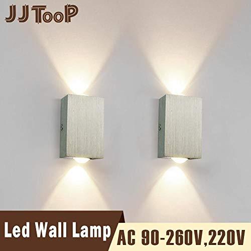 Moderne led-wandlamp op en neer lantaarn binnenshuis bedlampje woonkamer slaapkamer hal huis