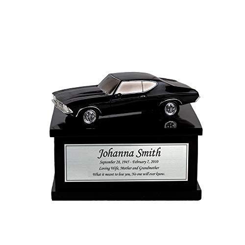Perfect Memorials Custom Engraved Small Muscle Car Cremation Urn