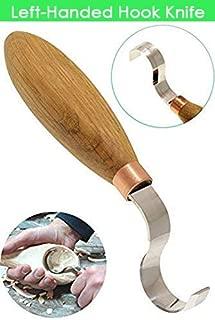 BeaverCraft Hook Knife SK2L Oak 1.2