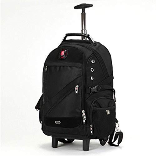 Outdoor Product/Mode tas JYT Travel Trolley Rugzak Grote Capaciteit Wieltje Handbagage Anti Diefstal Waterafstotend Casual Dagpack voor Reizen/Zaken/College/Mannen/Vrouwen