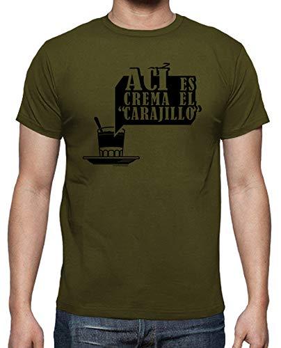 latostadora - Camiseta AC para Hombre Army S