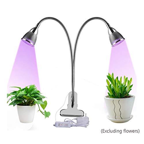 HOMZYY 10 Watt LED plantengroei lamp 360 graden  graden zwanenhals rood blauw plantengroei lamp indoor tuin kas pot vullen licht