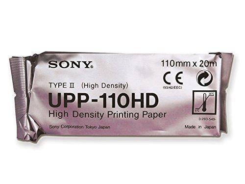 Gima 72726papel para Sony upp 110HD, Paquete de 10