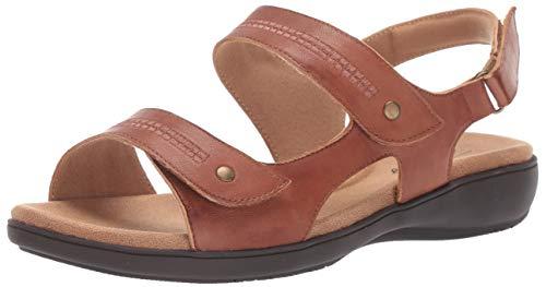 Trotters Women's Venice Sandal, Luggage, 6.0 2W US