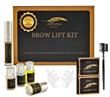 ARYANA Brow Lift Kit | Eyebrow Lamination Kit | DIY Perm for Eyebrows | Professional DIY Kit for Full Feathered Brows | Eyebrow Brush Micro Applicator and Spoolie Included