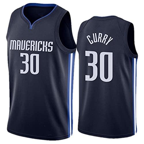 # 30 Curry # 77 Jersey De Baloncesto De Docic para Hombre Camiseta Sin Mangas para Hombre Chaleco Deportivo Gimnasio Top Sin Mangas,Negro,M