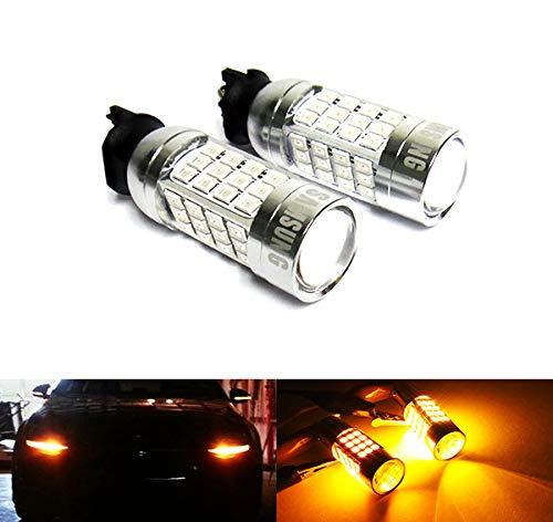 Lot de 2 ampoules LED Ambre PWY24W PW24W 40W Feux de circulation diurnes DRL pour A3 A4 Q3 F30 C4 Golf 208 RZG