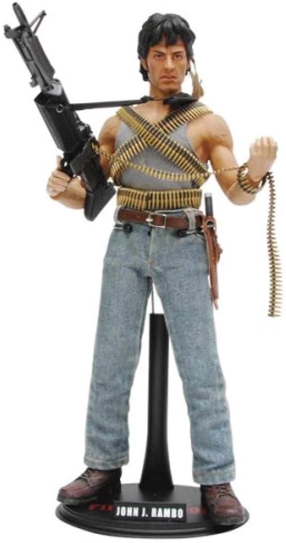 Movie Masterpiece - 1 6 Scale Fully Poseable Figure  Rambo First Blood [John J. Rambo]