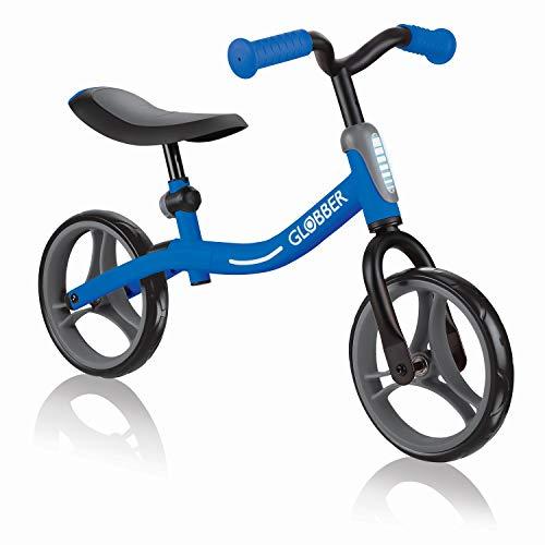 Globber Go Bike Laufrad Jugend Unisex, 610-100, dunkelblau, Réglable en Hauteur
