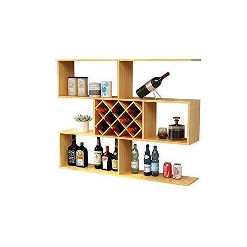 T-T-H moderne muur planken houten panelen, muur scheidingswanden bar, creatieve rooster muur decoratie huis decoratie woonkamer plank opslag rack