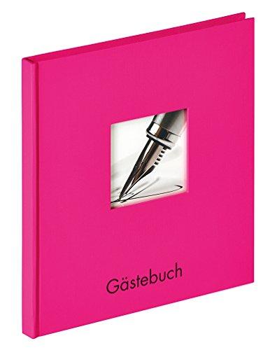 Walther GB-205-Q design Gästebuch Fun, 23 x 25 cm, pink