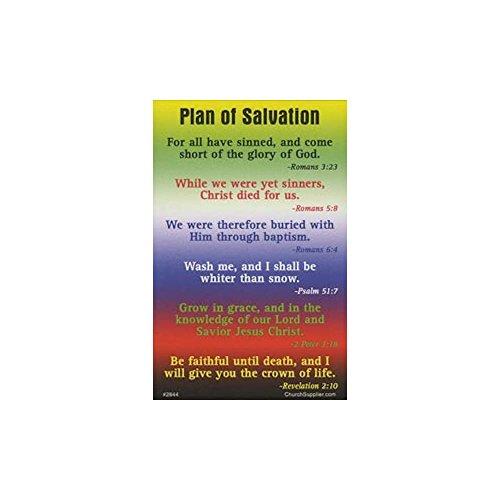 Plan Colors of Salvation Pocket Cards (Pkg of 100)