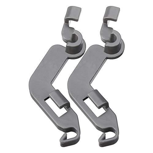 Wchaoen 2 stücke Spülmaschine Rack Tine Pivot Clip Ersatzteile Für Whirlpool KitchenAid Maytag W10082853 Werkzeugzubehör