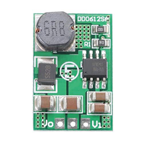 Módulo convertidor de refuerzo de voltaje con salida 12V / 3.5A DC-DC 3V, 3.3V, 3.7V, 5V a 12V Regulador elevador para fuente de alimentación