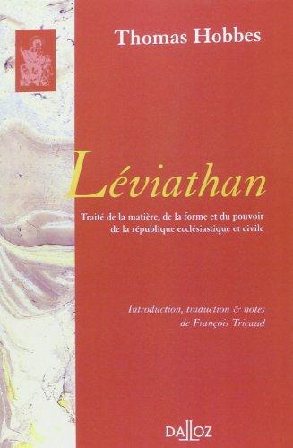 Léviathan (1re traduction française)
