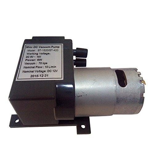 12 Volt Mini DC Vacuum Pump For Vacuum Heating Press Heat Transfer Machine Freesub ST-1520 Standard Accessories & Parts