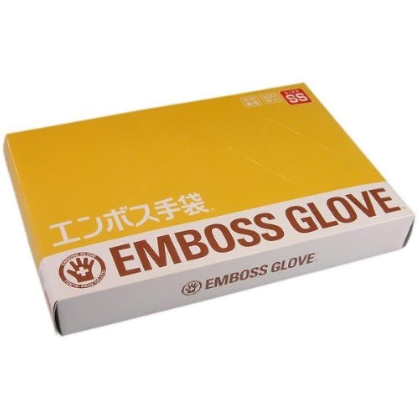急流花束上がるエンボス手袋 SS 200枚 東京パック 海外品