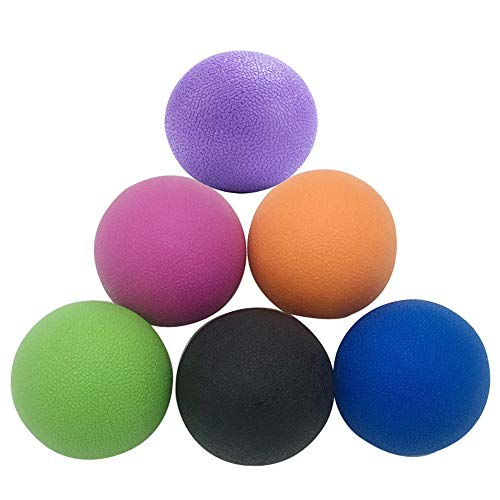 PBQWER Yoga Massage Ball - Best Trigger Point Ball, Myofascial Release, Yoga Therapeutics, Yin Yoga, Best to Relieve Stress