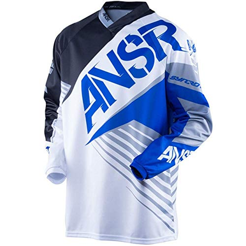 TOMORROWSTRA ansr Ride Off-Road Breathable Fast Dry MTB BMX XXXL Motocross Motorcycle dh Jersey Downhill Tshirt Cross Wear