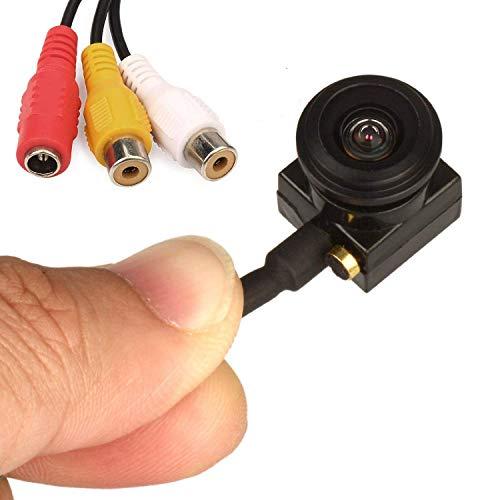Vanxse Cctv Mini cámara de seguridad espía Sony CCD HD 1,8 mm 120 grados 1000tvl oculta Mini Cctv cámara de vigilancia con micrófono de audio