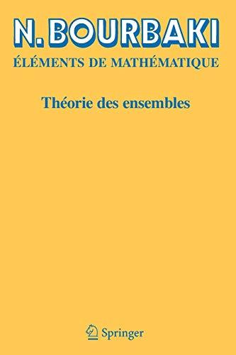 Theorie des Ensembles (Elements de Mathematique)