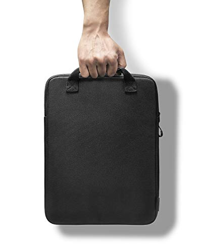 tomtoc Cordura Laptop Hülle Tasche für 13,5 Zoll Microsoft Surface Book 3/2/1, Surface Laptop 3/2/1, Premium Wasserdicht Notebook Schutzhülle Tasche mit Griff und Organisierte Fronttasche für Zubehör