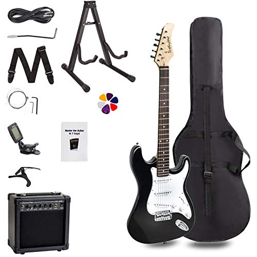 Display4top Full-Size Electric Guitar Most complete Beginner Super Kit...