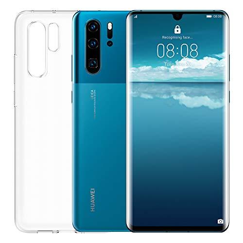 "Huawei P30 Pro Smartphone + Cover Trasparente, 8GB RAM, Memoria 128GB, Display 6.47"" FHD+, CPU Kirin 980, Quadrupla Fotocamera 40+20+8MP, Sensore TOF, SuperZoom 50x [Italia], Mystic Blue"